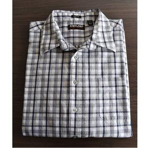 Kirkland Non-Iron Checkered Shirt XXL